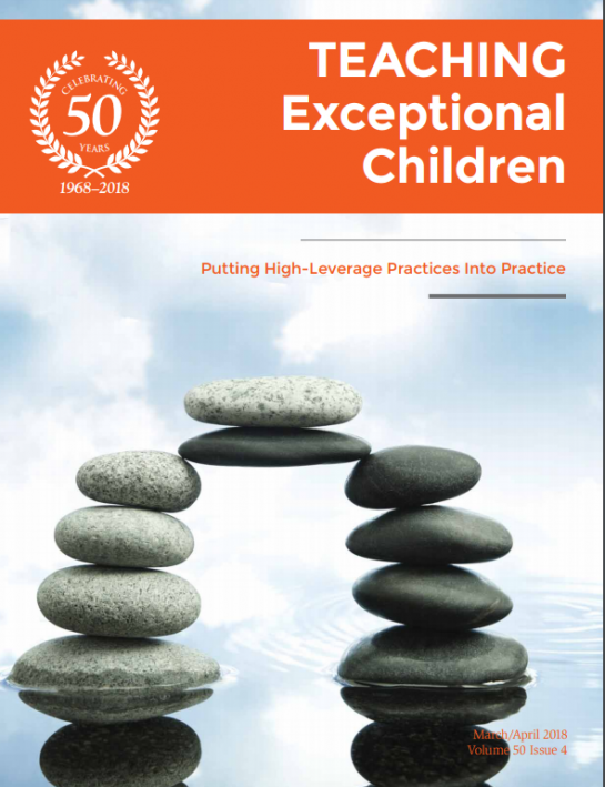 TEACHING Exceptional Children Journal (Volume 50, Issue 4)